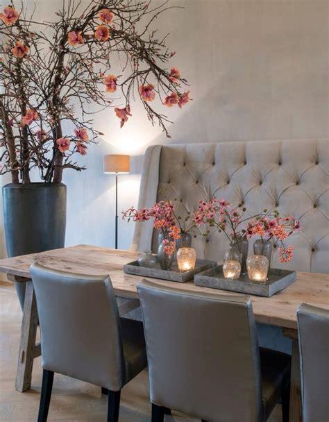 Dining Room Table With Bench Seating by Bancos Junto A La Mesa De Comedor Decorar Net