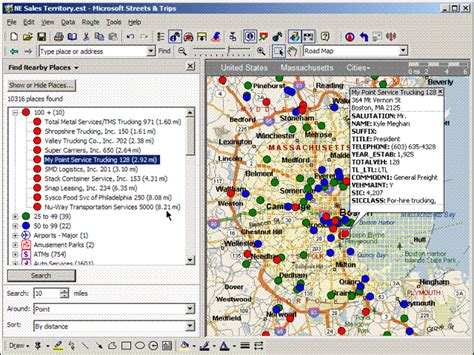 reset tool for microsoft streets and trips video teaches sales reps how to use microsoft streets and