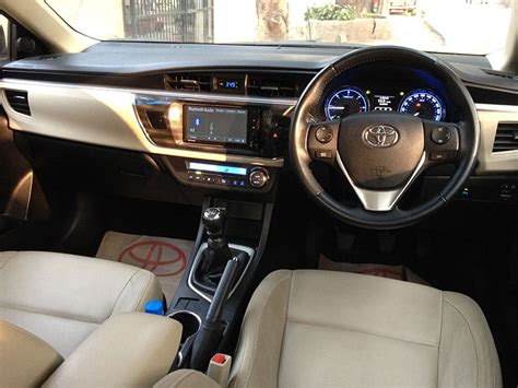 Toyota Altis 2014 Interior by Toyota Corolla Altis Diesel Review Gaadikey
