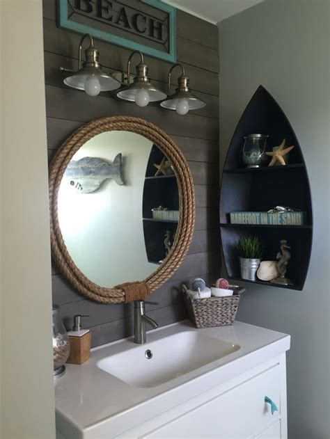 nautical themed bathroom ideas best 25 rope mirror ideas on pinterest nautical mirror