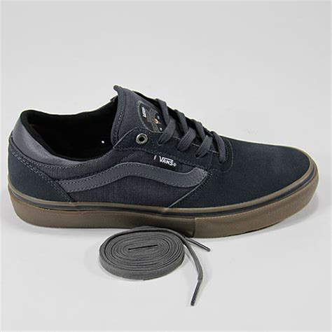 Vans Gilbert Crockett Pro Denim Black Gum Premium Icc 1 vans gilbert crockett pro shoe navy gum in stock at spot skate shop