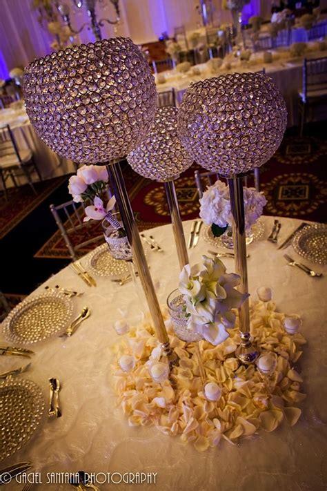 bling centerpieces wedding reception best 20 bling centerpiece ideas on bling