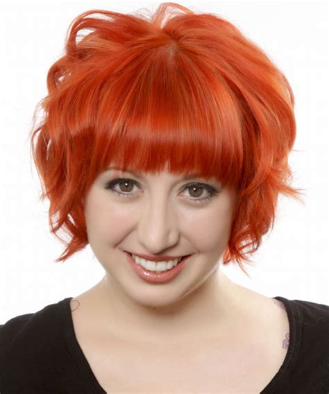Hairstyles Red Hair Round Face | short red hairstyles for round faces find hairstyle