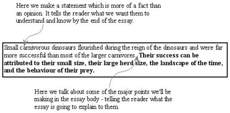 thesis statement exles for expository essays the structure of an expository essay