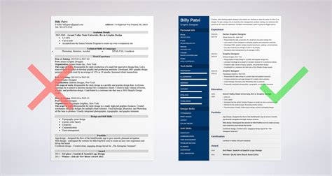How To Design A Resume by Graphic Design Resume Sle Guide 20 Exles