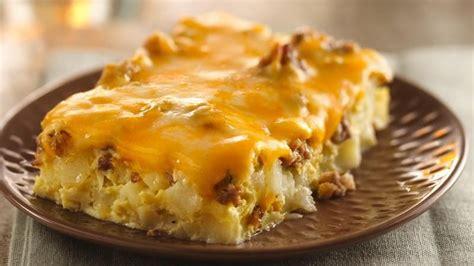 overnight tex mex egg bake recipe from betty crocker
