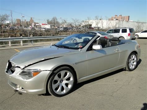 645 Bmw For Sale by 2005 Bmw 645 Ci 4 4l V8 Convertible Repairable Rebuild For