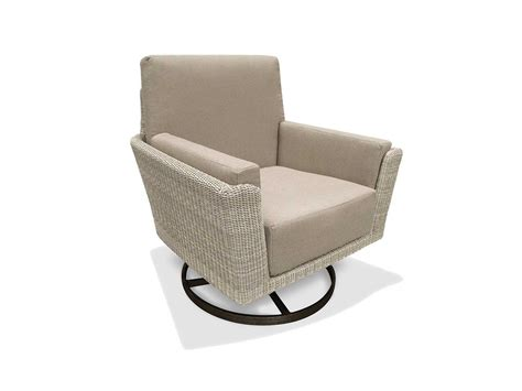 Winston Chair by Winston Banyan Bay Cushion Wicker Swivel Tilt