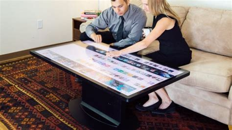 a pattern language for interactive tabletops in collaborative workspaces ideum 55 inch uhd coffee table recognizes real world objects