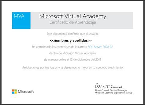 Como Descargar Sertifidos En Microsoft Gratis | 100 cursos gratis en espa 241 ol dictados por microsoft con