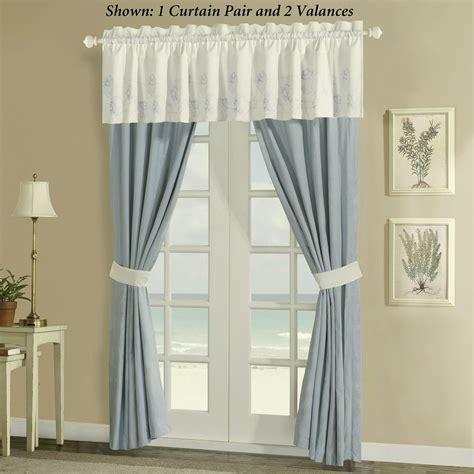 nautical valances coastal curtains furniture ideas deltaangelgroup