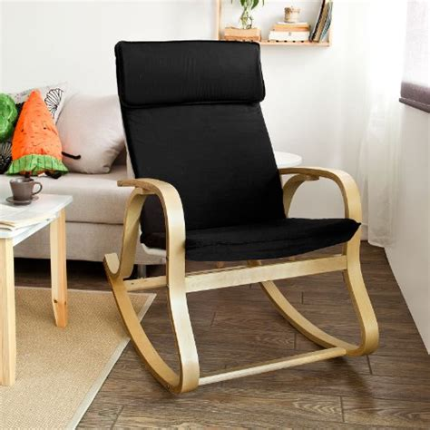 Relax Rocking Chair Sobuy Comfortable Relax Rocking Chair Gliders Lounge