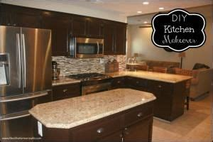 diy espresso staining oak kitchen cabinets great detailed