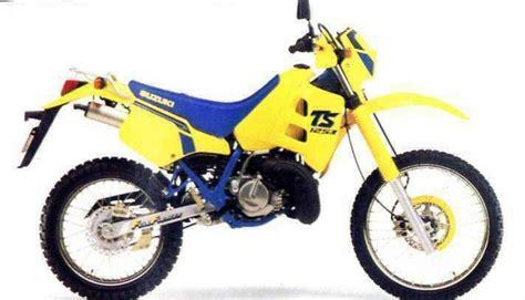 Ts Suzuki 1987 Suzuki Ts 250 X Moto Zombdrive
