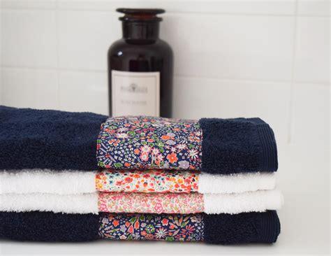 Handmade Towels - handmade gifts liberty towels she
