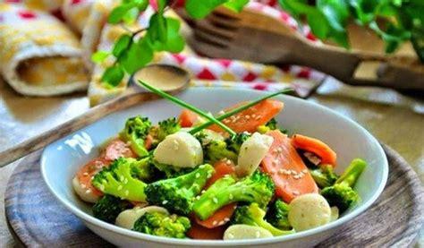 resep masakan   masak tumis brokoli daging sapi