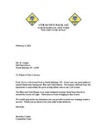 Fundraising Letter For Boy Scouts Donation Letter