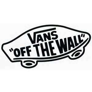 Vans Off The Wall Stickers vans off the wall sticker 178091100 stickers tillys com
