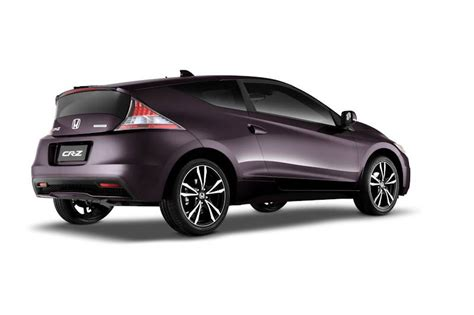 honda cars philippines honda cars philippines launches the cr z sports hybrid