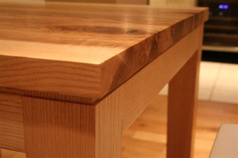 Contemporary Handmade Furniture - bespoke handmade contemporary ash table quercus furniture