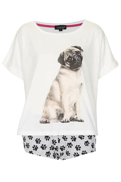 pug pajamas for pugs pug and pyjama set