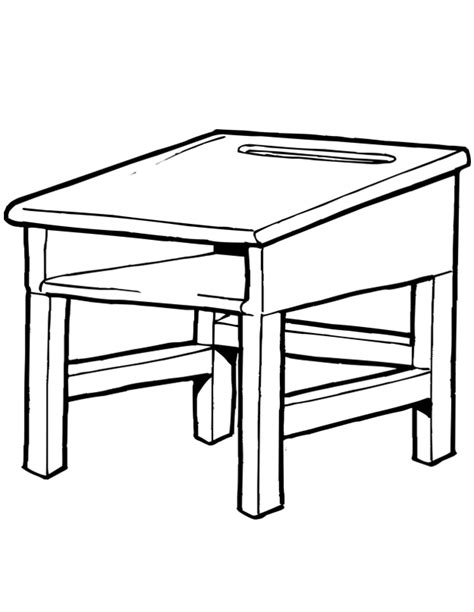 bureau dessin enfant bureau d 233 cole est un coloriage d 233 cole 224 imprimer