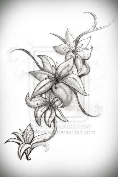 what about a lily tattoo