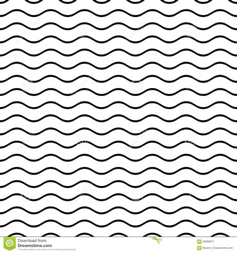 black and white wavy pattern seamless wavy line pattern stock vector image 59090911