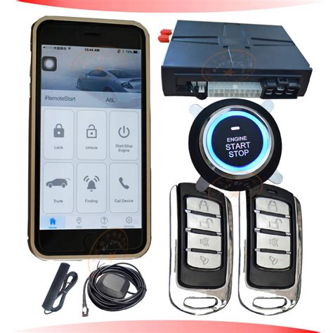 Alarm Mobil gps car alarm system gsm mobile opration mobile app free sms start stop car engine gps