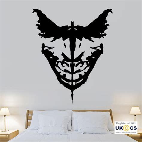 batman wall stickers batman joker wall stickers decals vinyl decor room