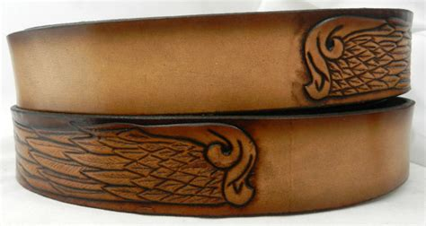 name belt wings nbt930 includes name in center back