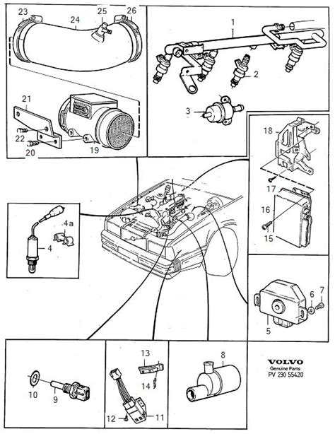 volvo 850 vacuum hose diagram imageresizertool