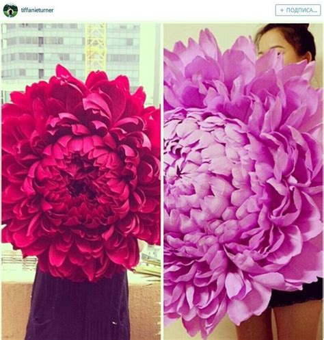 How To Make Big Paper Flowers - best 25 big paper flowers ideas on