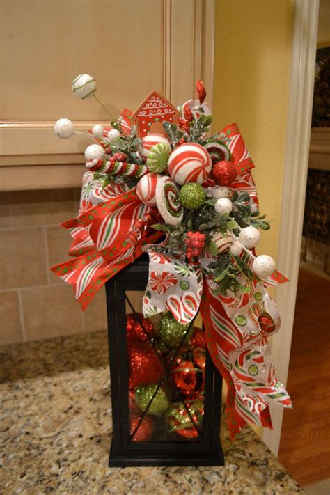 christmas decorations photos candyland lantern swag by kristenscreations on etsy