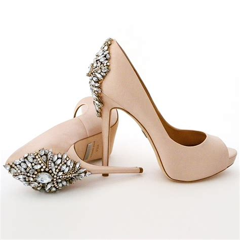 Blush Flat Wedding Shoes by Badgley Mischka Kiara Pink Pink Wedding Shoes Bridal Glam