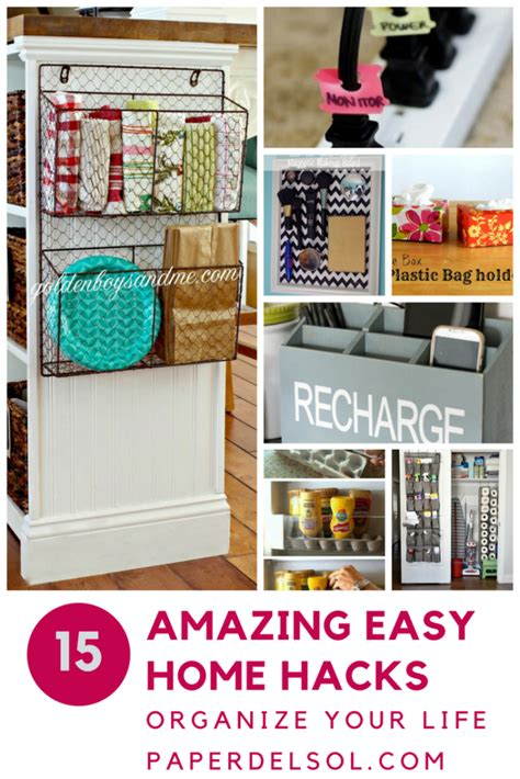 home organization blog 15 of the best home hacks to organize your life