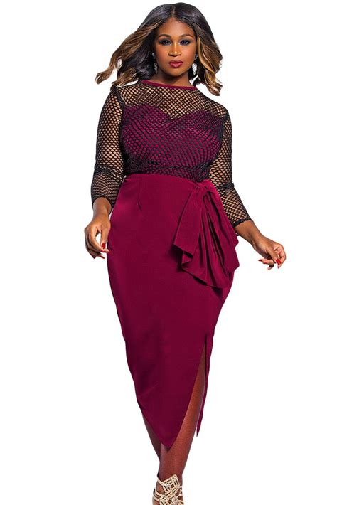 Dress Mercy Maroon buy wholesale maroon color from china