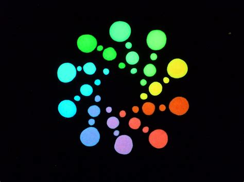 glow in the paint different colors glow intensity of glow on gun sights paint different