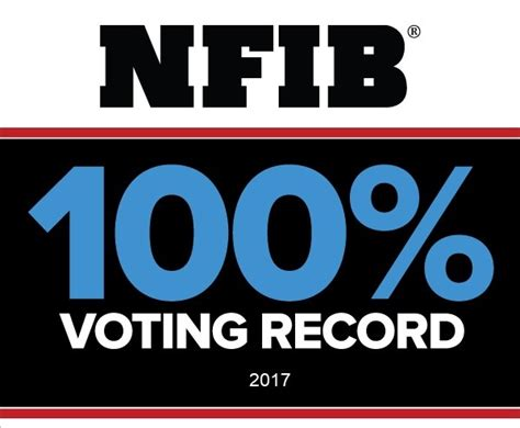 Where To Find Voting Records Nfib Praises Legislators With 100 Percent Voting Record