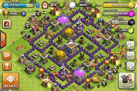 coc layout farming th7 clash of clans top 5 th7 base builds best so far i think