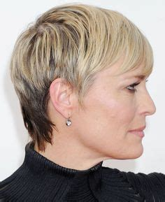 influance hairstyle gallery robin wright photos photos los angeles confidential