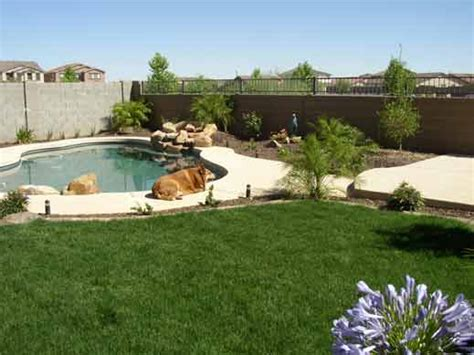 17 best images about arizona backyard landscaping arizona tropical landscape design with sod palm trees