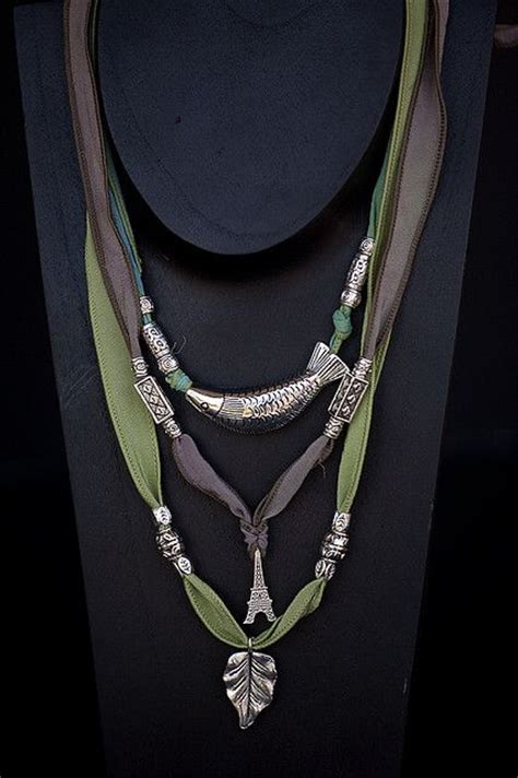Fabworthy Yarborough Silk Satin Ribbon Jewelry by 25 Best Ideas About Ribbon Necklace On Ribbon
