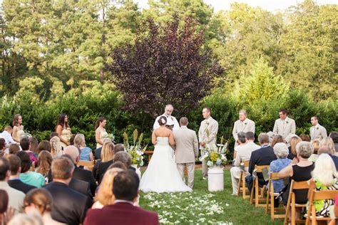 wedding outdoor reception raleigh nc outdoor wedding venue rand bryan house