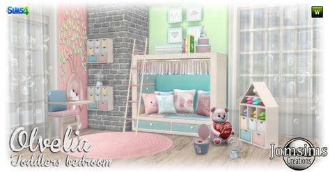 my sims 4 blog stylish modern bedroom set by mxims my sims 4 blog olvelia toddler s bedroom set by jomsims