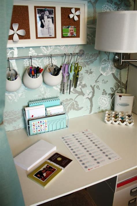 Practical And Inspiring Solutions For Organizing Your Work Organized Desk Ideas