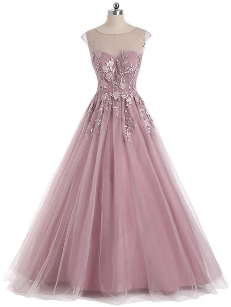 Floral Sleeveless Evening Dress 2018 floral embroidered mesh yoke sleeveless evening dress
