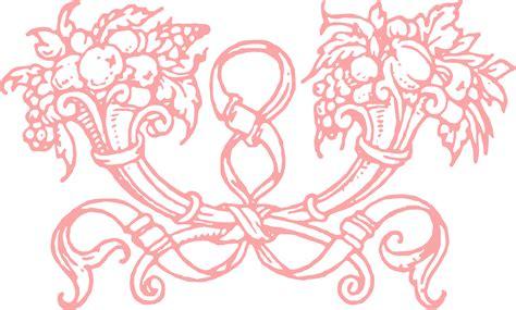 free stock vector amp clip art decorative cornucopia