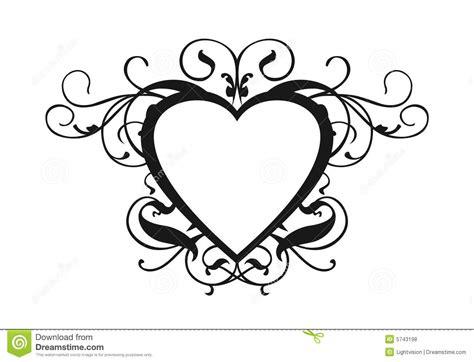 Wedding Border Hearts by Wedding Clipart Border Pencil And In Color Wedding