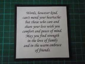 sympathy card quotes quotesgram